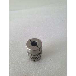 Sprzęgło elastyczne 8/8mm L 27 / 20mm stal K.O.