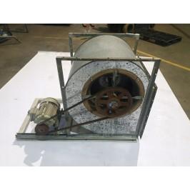 Wentylator wyciąg silnik Loher 6,8kw Dmuchawa Nr48