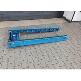 Przenośnik taśmowy transportowy 188 x 69cm Nr616