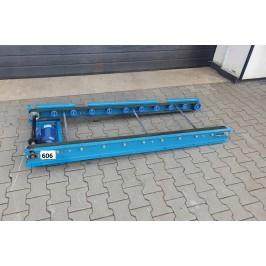 Przenośnik taśmowy transportowy 188 x 69cm Nr606