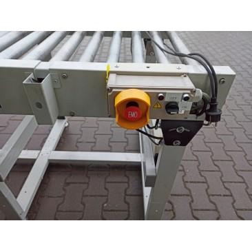 Przenośnik rolkowy motorolka 430x100x95cm Nr736
