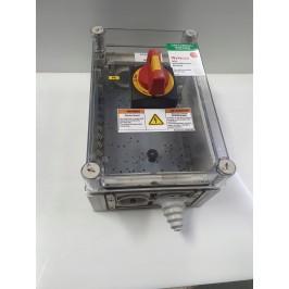 Rozdzielnia szafa elektryczna - 36x24x18cm plastik