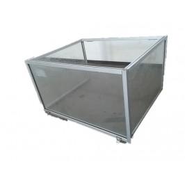Profil aluminiowy 20x20 osłona 61/54/40cm