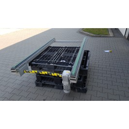 Przenośnik taśmowy transportowy 200x116cm Nr739