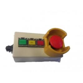 Wyłącznik EMO Stop IDEC HW-CB11 w obudowie