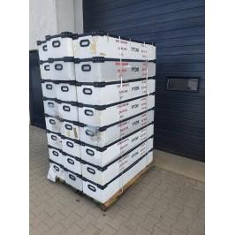 Pojemnik magazyn kuweta 124x32x22cm wys. 24 sztuki