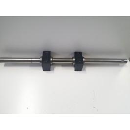 Prowadnica wałek liniowy 30mm 69cm łóżysko x 2