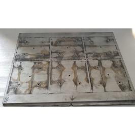 Blacha blok aluminium 520x430x20mm
