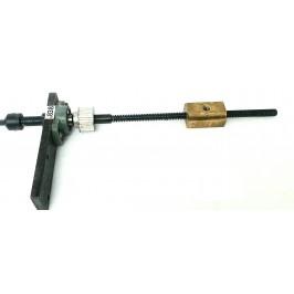 Śruba trapezowa 16/4 robocze 27cm nakrętka