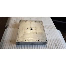 Blacha aluminium anodowana magnezowa 415x385x75mm