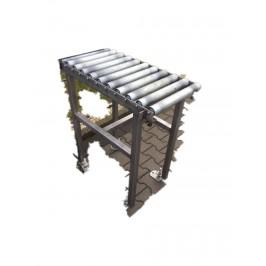 Przenośnik rolkowy stół 85x44x92wys rolka 40 Nr788