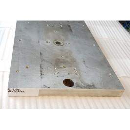 Blacha aluminium anodowana magnezowa 620x430x40mm