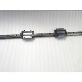 Prowadnica SBG 25mm FL 2wózki z kołnierzem 113,5cm