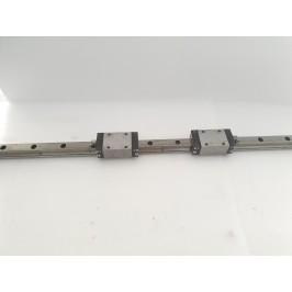 Prowadnica REXROTH 1622-293-20 20mm 2 wózki 193cm