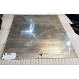Blacha aluminium anodowana magnezowa 840x630x11mm