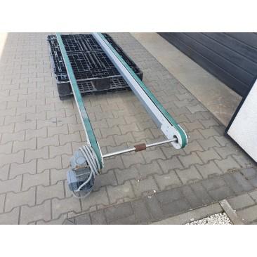 Przenośnik taśmowy transportowy 450x82cm Nr747