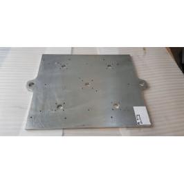 Blacha aluminium anodowana magnezowa 620x540x15mm