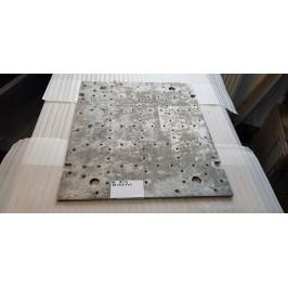 Blacha aluminium anodowana magnezowa 650x555x10mm