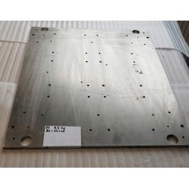 Blacha aluminium anodowana magnezowa 620x540x10mm