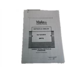 Instrukcja Obsługi Wózek pl YALE GLP 20-35VX