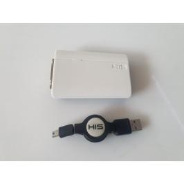 Zewnętrzna karta graficzna USB 2.0 HIS Multi-View